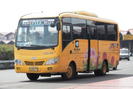 free shuttle in Soekarno Hatta Airport